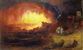 'THE DESTRUCTION Of Sodom And Gomorrah,' John Martin, 1852