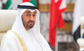ABU DHABI'S Crown Prince Sheikh Mohammed bin Zayed al-Nahyan attends the Gulf Cooperation Council summit in Mecca, Saudi Arabia, last year.