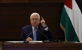 Palestinian President Mahmoud Abbas attends a virtual meeting with Palestinian factions over Israel and the United Arab Emirates' deal to normalise ties, in Ramallah in the Israeli-occupied West Bank September 3, 2020