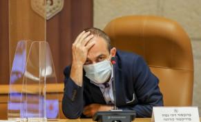 Coronavirus commissioner Prof. Ronni Gamzu