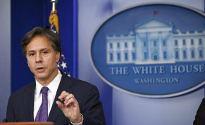 US Deputy National Security Advisor Tony Blinken speaks on Syria at the White House in Washington. September 9, 2013.