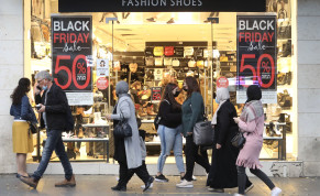 Black Friday sales in Jerusalem, Nov. 2020