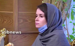 Kylie Moore-Gilbert, who was detained in Iran in 2018 and sentenced to 10 years in prison on espionage charges, is pictured after she was released in exchange for three Iranians who had been detained abroad, in Tehran Iran, in this still image taken from a video and obtained on November 26, 2020.