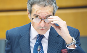 'THERE IS less access, let's face it.' Director-General of the International Atomic Energy Agency Rafael Mariano Grossi ahead of a virtual IAEA Board of Governors meeting at the IAEA headquarters in Vienna last year.
