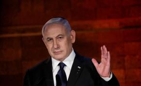 Prime Minister Benjamin Netanyahu at Yad Vashem's Holocaust Remembrance Day ceremony, April 7, 2021.