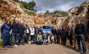 DigiTell tour to Israel's northern front for social media influencers, April 12, 2021.