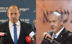 Bennett and Netanyahu squared off in an exchange of harsh words.