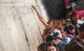 Women at the Western Wall.