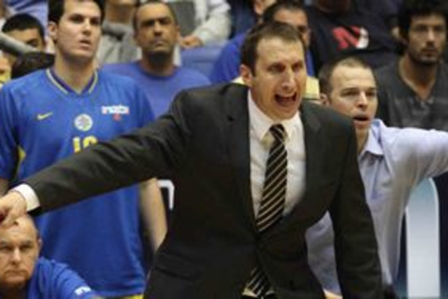Macabi Tel Aviv coach David Blatt 311 (photo credit: Adi Avishai)