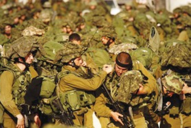 IDF Soldiers 311 (R) (photo credit: REUTERS)