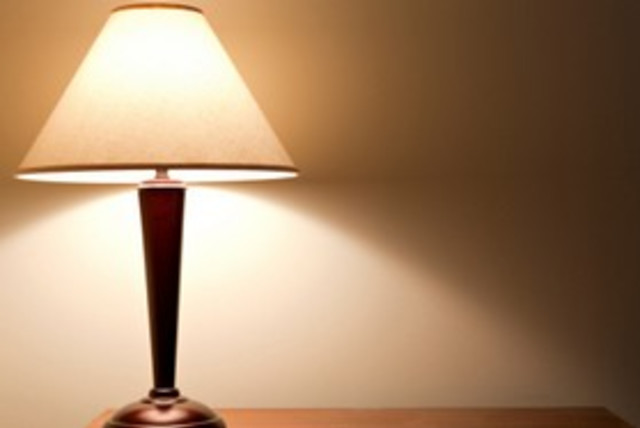 Lamp (photo credit: Thinkstock/Imagebank)