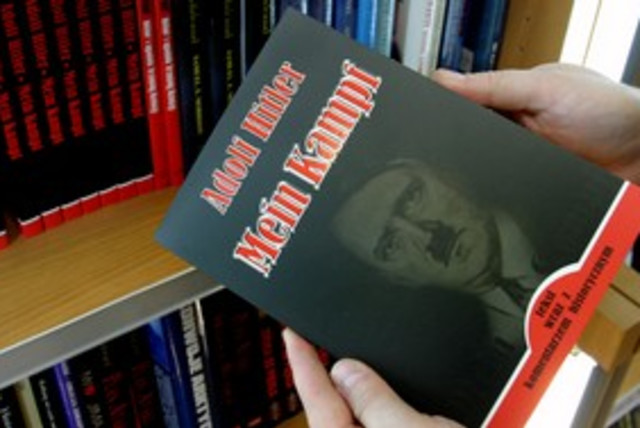 Mein Kampf sells in Poland_311 (photo credit: Reuters)