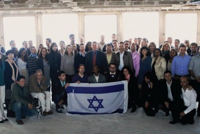 Envoys to to fight Israel Apartheid Week 390 (photo credit: Courtesy/Yuli Edelstein office)