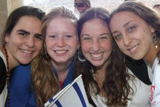 US STUDENTS on a Masa trip to Israel 390 (photo credit: Courtesy of JAFI)