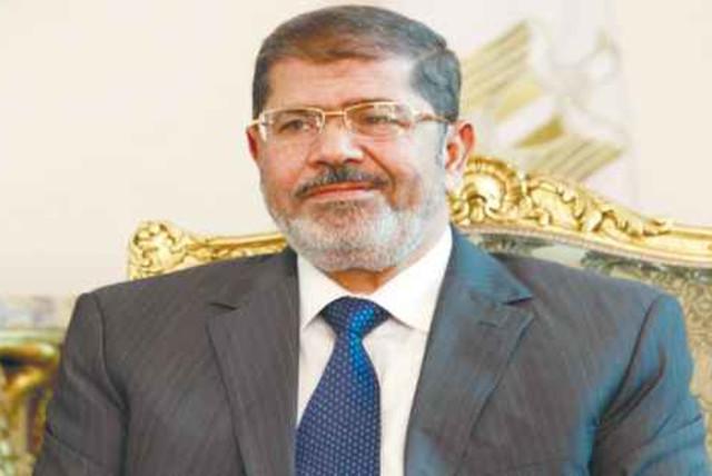 Mohamed Morsi (photo credit: Amr Abdallah Dalsh / Reuters)