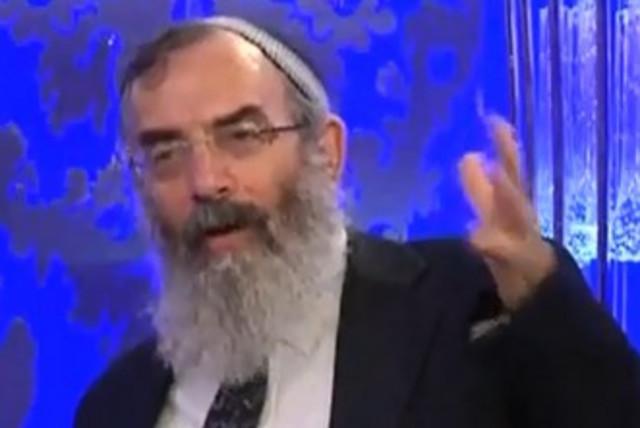 Rabbi David Stav 370 (photo credit: YouTube Screenshot)
