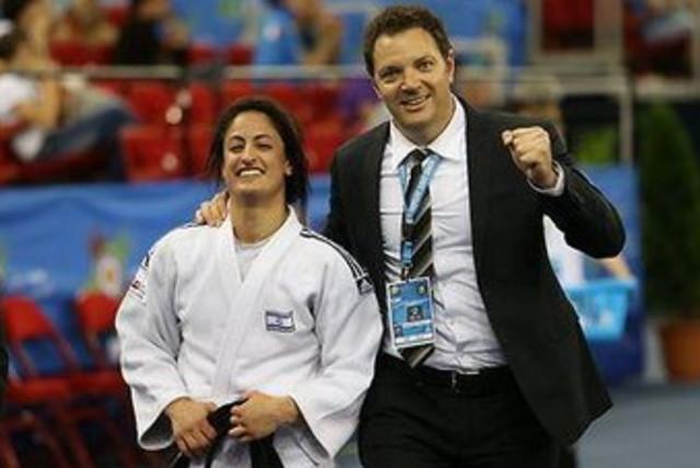 Yarden Gerbi takes bronze at European Championships 370 (photo credit: Courtesy of Facebook)