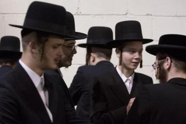 Satmar Hassidic Jews. [File] (photo credit: REUTERS)