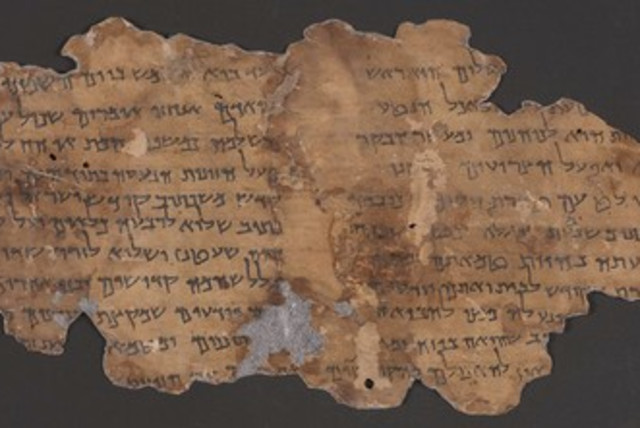 A photo of the Dead Sea Scrolls available on the newly upgraded Leon Levy Dead Sea Scrolls Digital Library of the IAA. (photo credit: IAA)