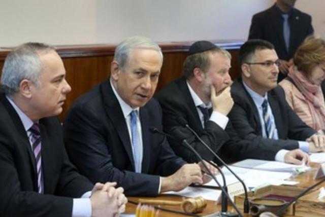 Prime Minister Binyamin Netanyahu convenes his cabinet on Sunday. (photo credit: MARC ISRAEL SELLEM/THE JERUSALEM POST)
