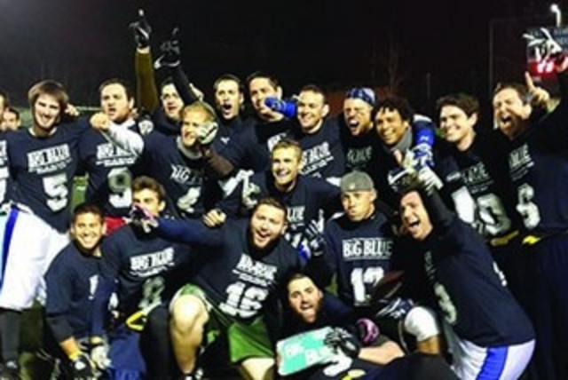 Big Blue championship team (photo credit: AFI COURTESY)