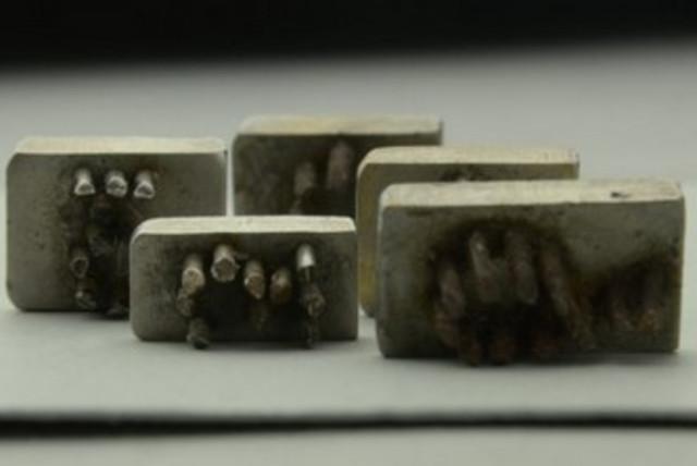Metal stamps (photo credit: AUSCHWITZ MUSEUM)