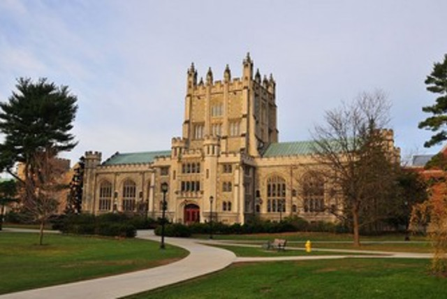 Vassar College campus. (photo credit: Wikimedia Commons)