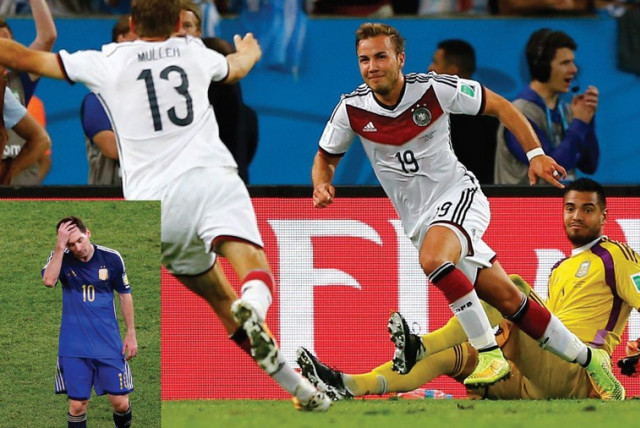 Germany wins 2014 World Cup in Rio, Brazil (photo credit: REUTERS)