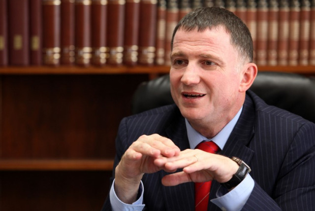 Yuli Edelstein (photo credit: MARC ISRAEL SELLEM/THE JERUSALEM POST)