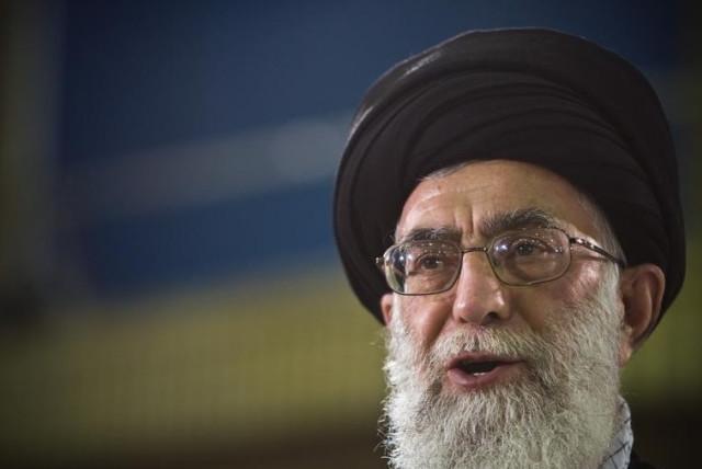 Iran's Supreme Leader Ayatollah Ali Khamenei (photo credit: REUTERS)