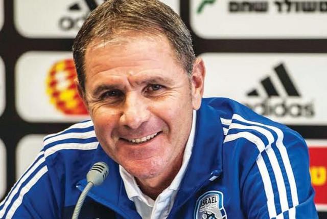 Israel's national team coach Eli Gutman (photo credit: ASAF KLIGER)