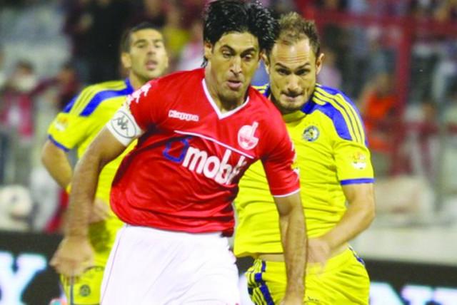 Hapoel Beersheba striker Elyaniv Barda (photo credit: MEIR EVEN HAIM)