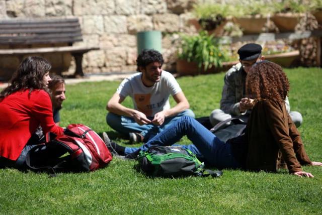 Students at Hadassah college (photo credit: Courtesy)