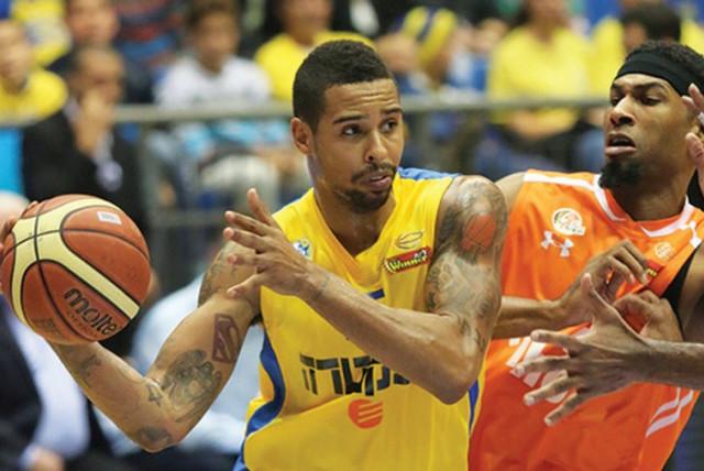 Maccabi Tel Aviv forward Sylven Landesberg (photo credit: ADI AVISHAI)
