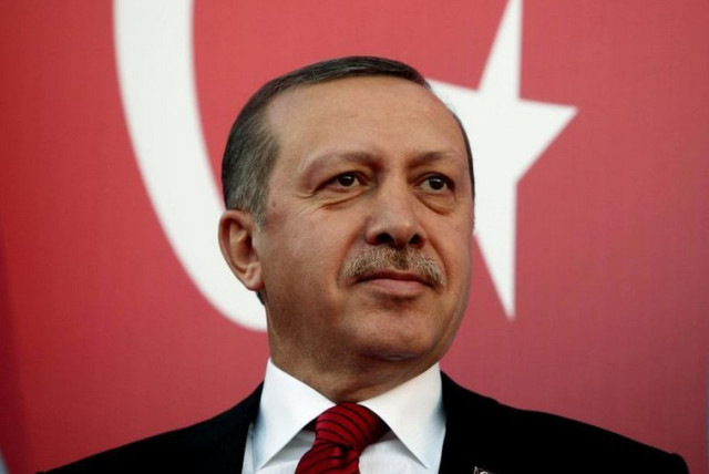 Turkish President Recep Tayyip Erdogan (photo credit: REUTERS)