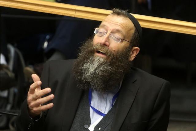 Baruch Marzel  (photo credit: MARC ISRAEL SELLEM/THE JERUSALEM POST)
