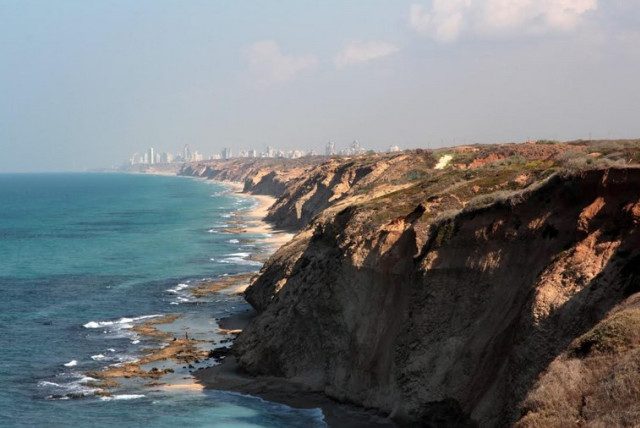 The view from Apollonia National Park, one of the trails tailored for disabled access and families (photo credit: YAAKOV SKOLNIK)