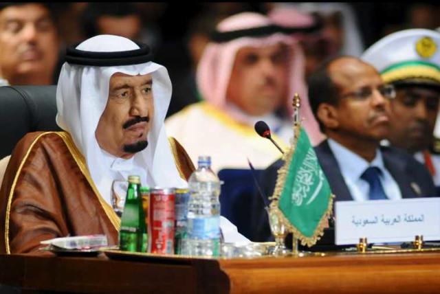 Saudi King Salman  (photo credit: REUTERS)