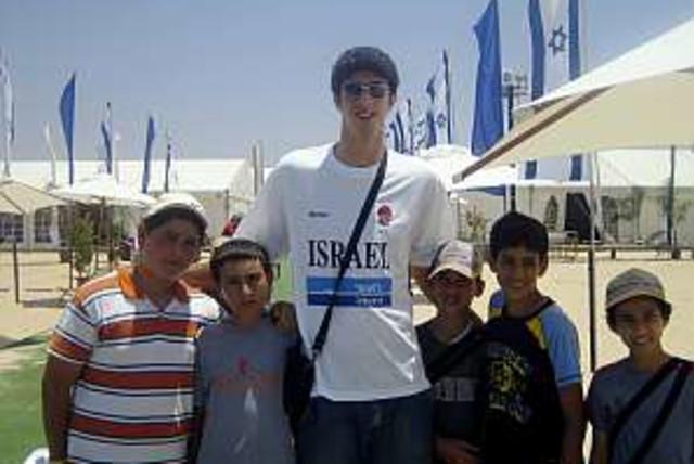 Eliyahu  kids 298.88 (photo credit: Joseph D. Robbins)