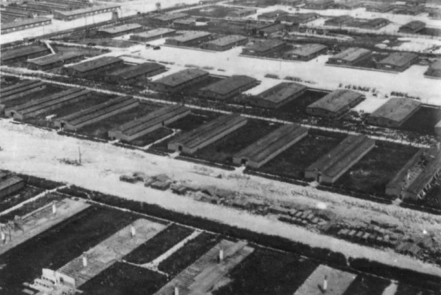 Majdanek, the second largest Nazi death camp in Poland (photo credit: WIKIMEDIA)