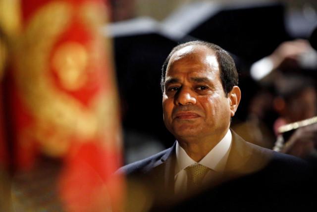 Egyptian President Abdel Fattah al-Sisi (photo credit: REUTERS)