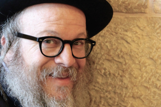 Jerusalem's funniest Hassid Yisrael Campbell. (photo credit: TUVIA CAMPBELL HOCHSTEIN)