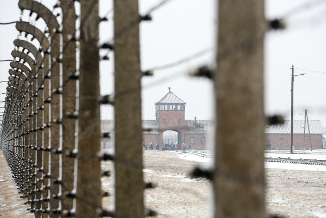 PHOTOGRAPH OF Auschwitz-Birkenau taken in February 2017. (photo credit: MARC ISRAEL SELLEM)