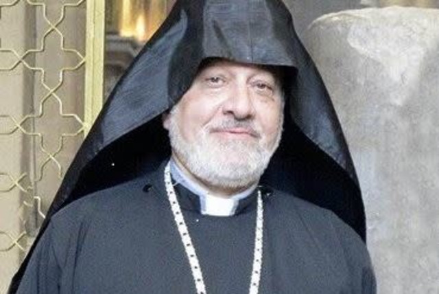 Fr. Hampartzoum  (photo credit: screenshot)