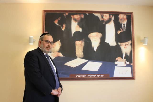 UTJ MK Yaakov Asher, 2019. (photo credit: JEREMY SHARON)