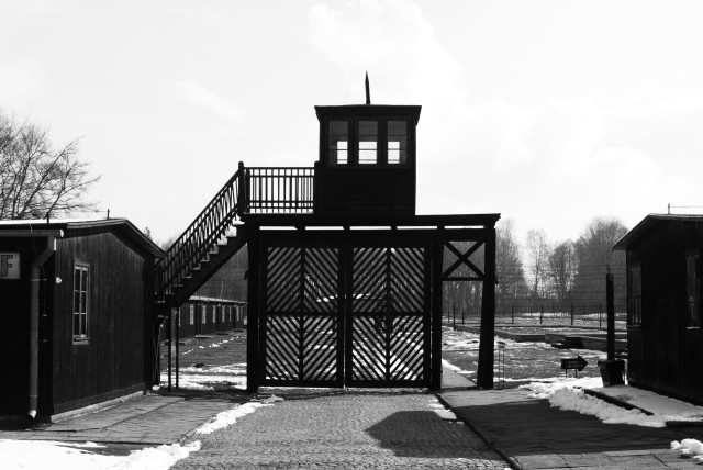 'Death Gate' at Stutthof Concentration Camp (photo credit: Wikimedia Commons)