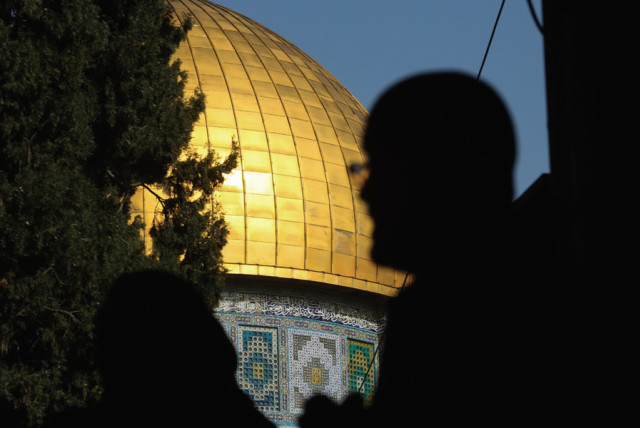 THE DOME of the Rock, situated on the Temple Mount – the 'world's atomic reactor.' (photo credit: MARC ISRAEL SELLEM)