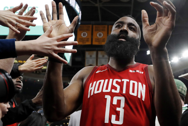 NBA: Houston Rockets at Boston Celtics (photo credit: REUTERS)