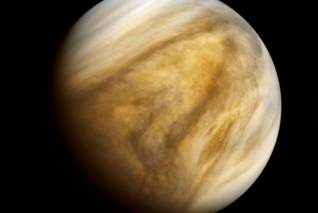 The planet Venus (photo credit: Wikimedia Commons)