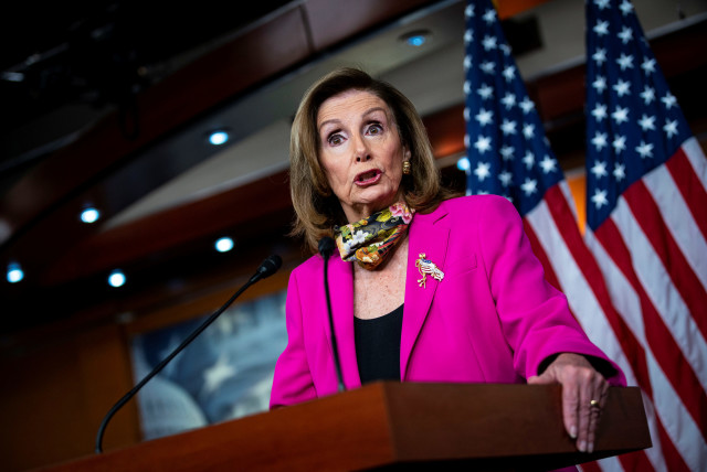 Nancy Pelosi Re Elected As Speaker Of The Us House Of Representatives The Jerusalem Post